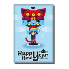 Magnet Happy New Year 2013