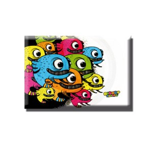 Magnet Monster-fish colors