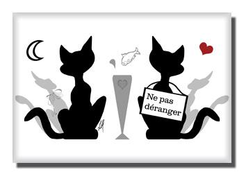 Ne pas d ranger par lore m libellulobar - Dessin chat rigolo ...