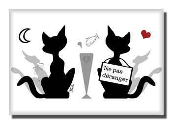 Ne pas d ranger par lore m libellulobar - Dessins de chats rigolos ...