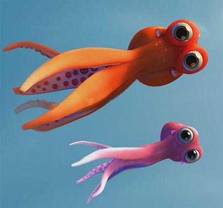 Oktapodi oder die sympathischen Tintenfische…