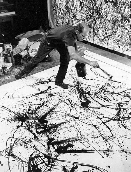Jackson Pollock – Action Painting