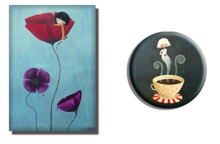 Painted Poppies und Chocolat Chaud