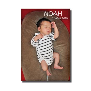 Faire part magnet – Création de faire part sur magnet – Noah