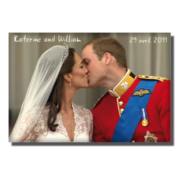 Magnets Kate et William, ils auraient pu!