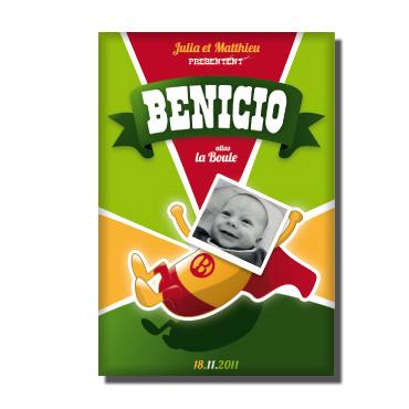 Eine originelle Idee zur Geburt oder Taufe – Benicio