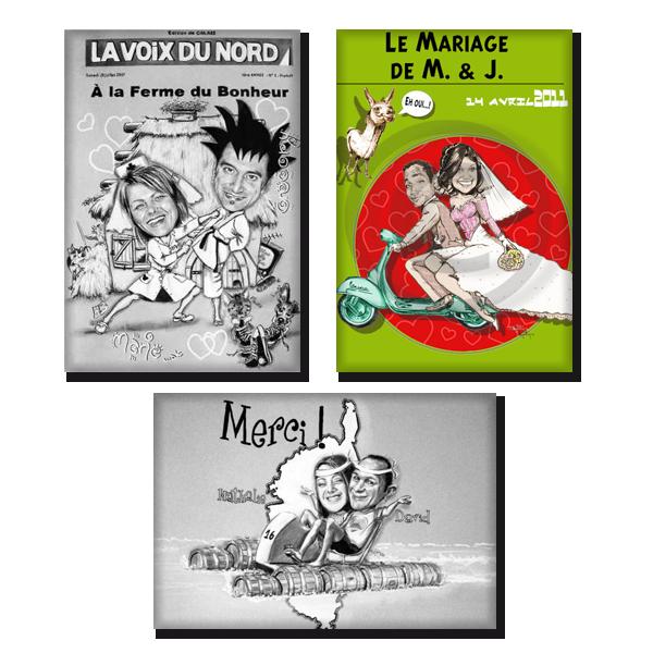 Einladungen und Erinnerungen im Comic-Style