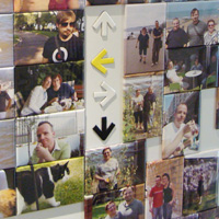 Magnets photos, une galerie de famille à gagner!