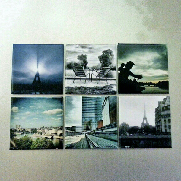 photos instagram transformées en magnets