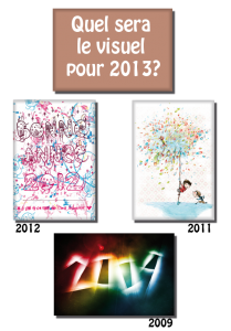 Le magnet de l'année 2013