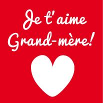 La Fête des grands-mères en magnets le 3 mars