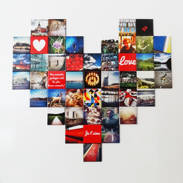 Magnets photos Instagram – Love magnets