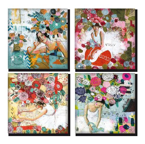 Flower Power magnets, des fleurs pour embellir la maison!